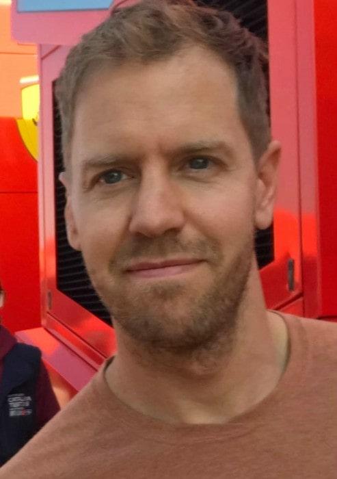 Sebastian Vettel as seen in March 2019