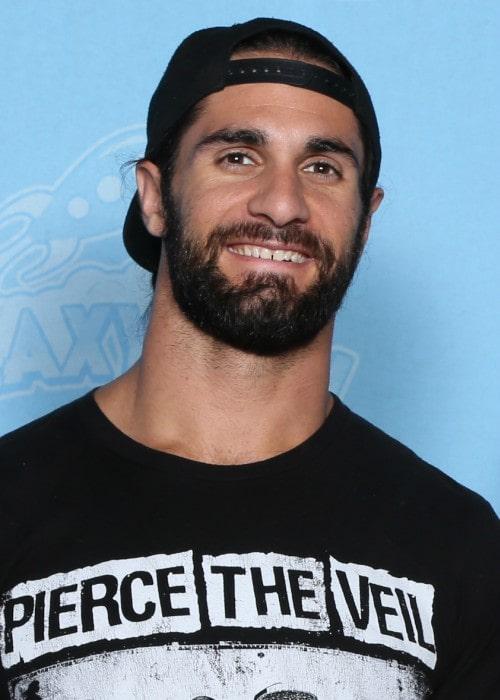 Seth Rollins at GalaxyCon in July 2019