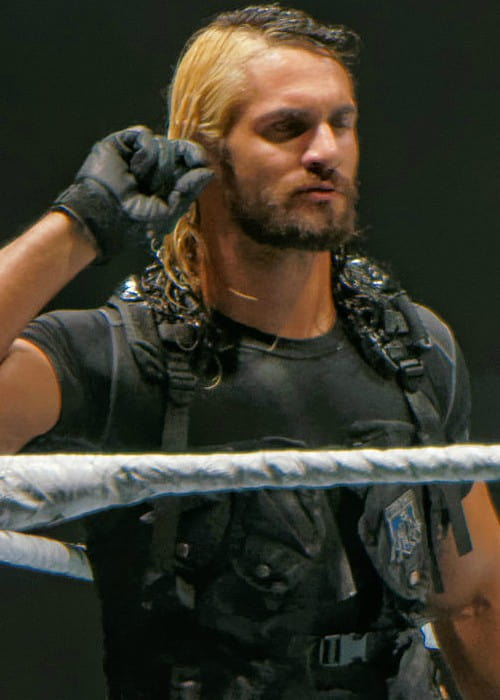 Seth Rollins at a WWE show in November 2013