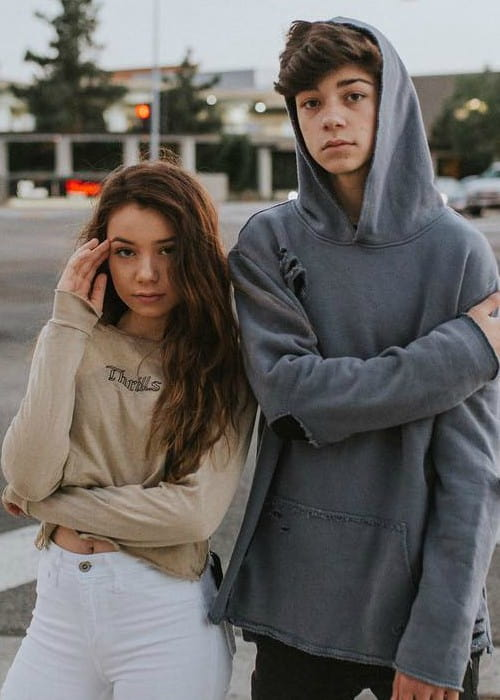 Sophia Birlem and Joey Birlem as seen in June 2018