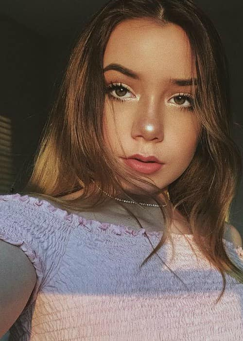 Sophia Birlem in an Instagram selfie as seen in September 2017