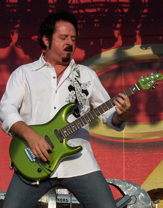 Steve Lukather performing at Moondance Jam Concert in July 2007