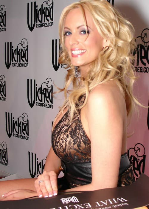 Stormy Daniels as seen in January 2007