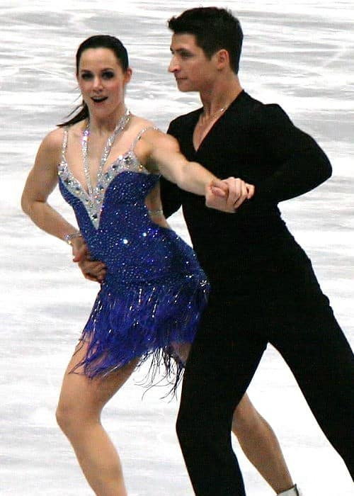Tessa Virtue and Scott Moir as seen in November 2011
