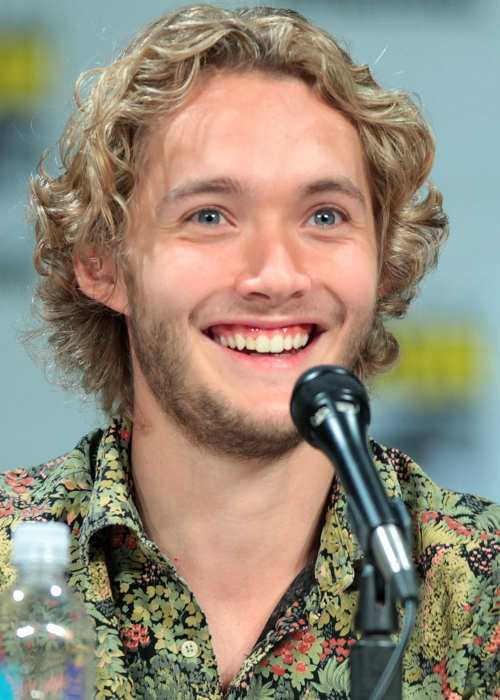 Toby Regbo at the 2014 San Diego Comic Con International