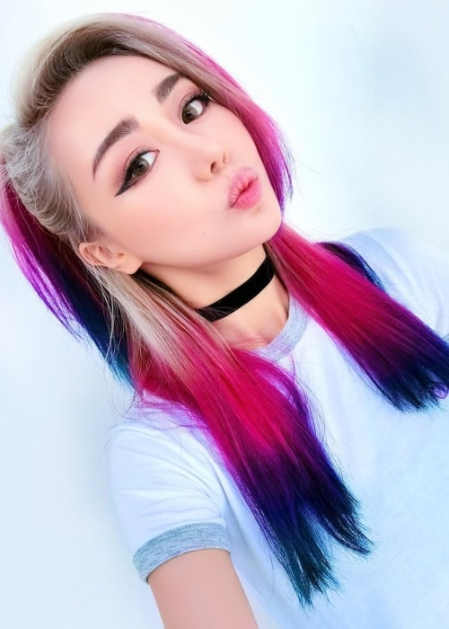 Wengie in an Instagram selfie in November 2017
