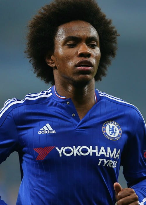Willian during the Olimpiyskiy National Sports Complex Champions League in October 2015