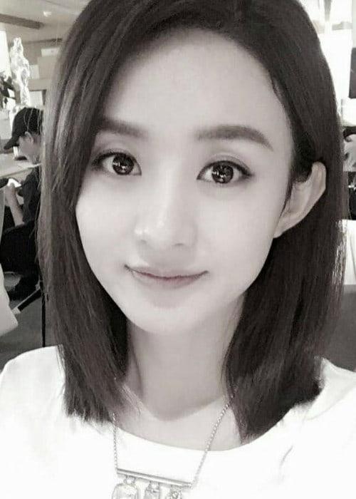 Zhao Li Ying in a selfie in August 2017