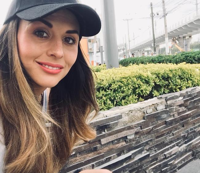 Zuria Vega in an Instagram selfie in June 2018