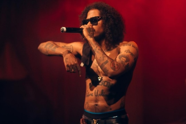 Ab-Soul while performing at The New Parish in Oakland in May 2017