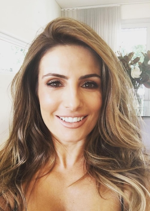 Ada Nicodemou as seen in a selfie in February 2018