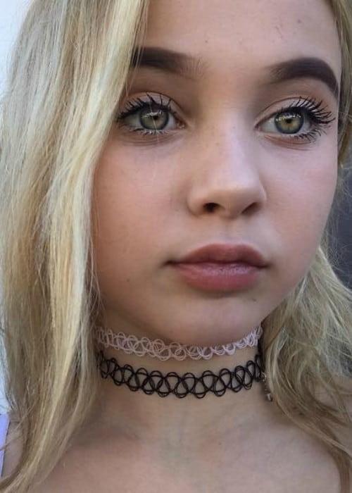 Alabama Luella Barker in an Instagram selfie as seen in November 2017