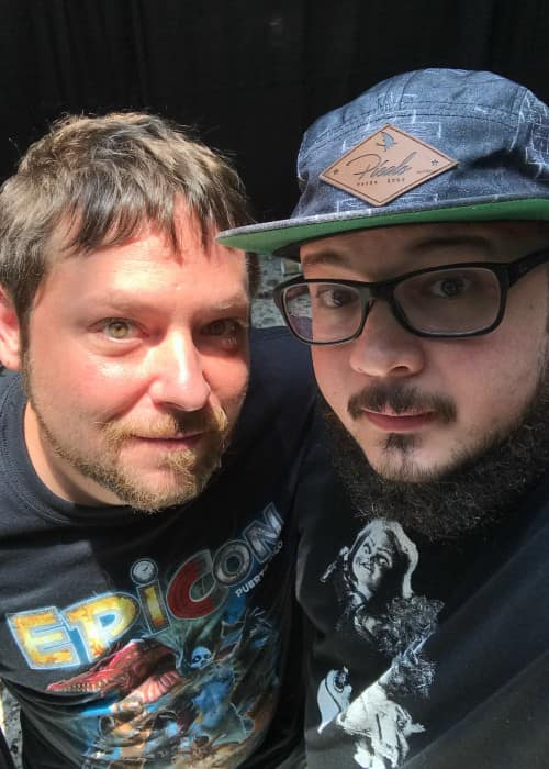 Alex Vincent (Left) and Juan Carlos Cruz Ventura in a selfie in August 2018