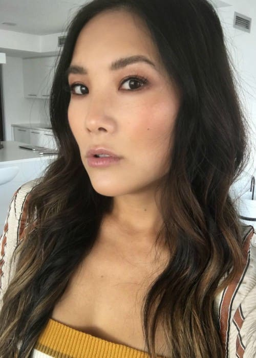 Ally Maki in a selfie as seen in August 2018