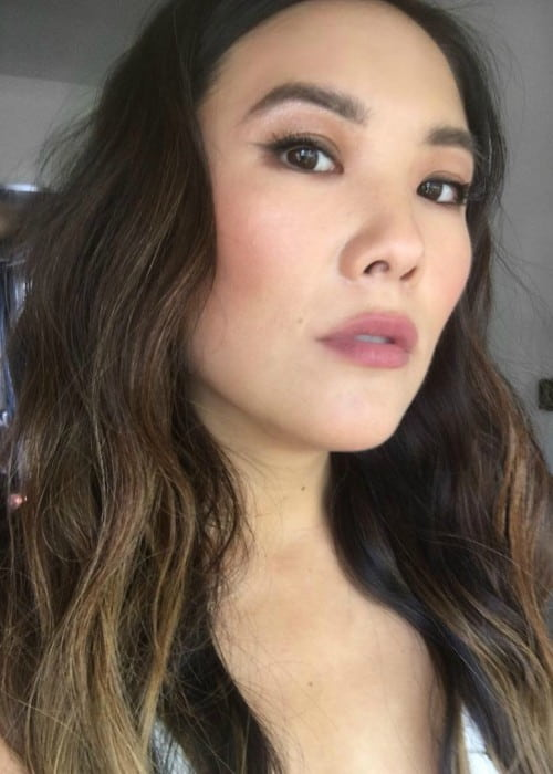 Ally Maki in a selfie in July 2018