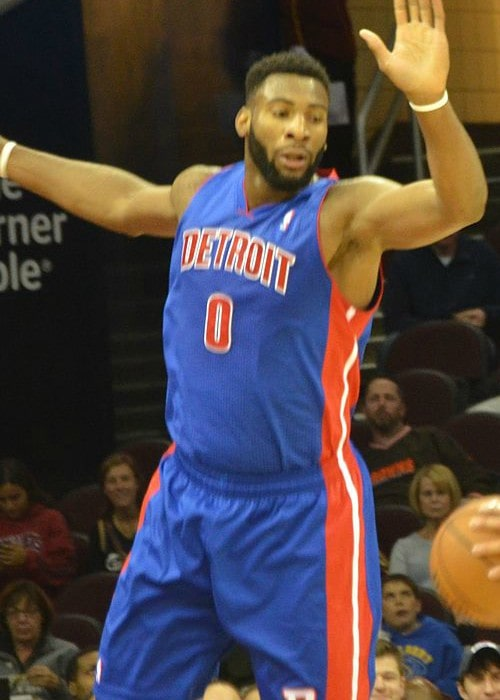 Andre Drummond as seen in October 2013