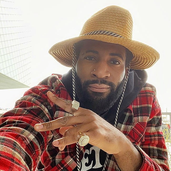 Andre Drummond in a selfie in May 2020