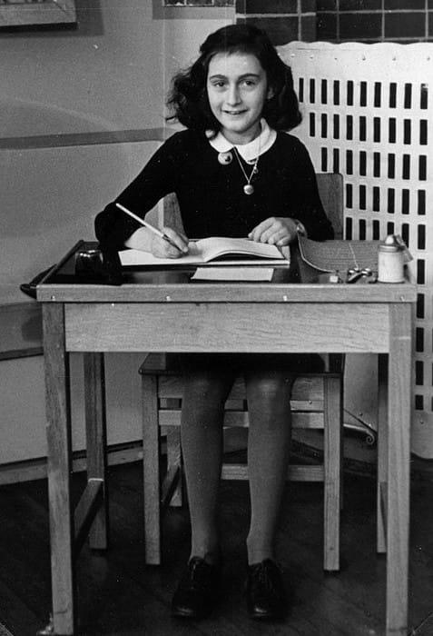 Anne Frank as seen in 1940