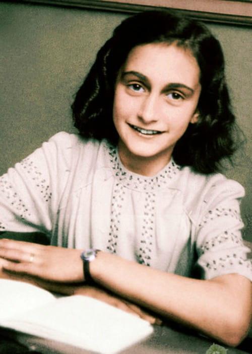 Anne Frank's school photo as seen in 1941