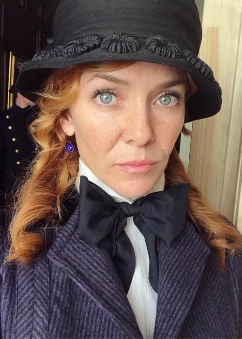 Annie Wersching in an Instagram post as seen in April 2018