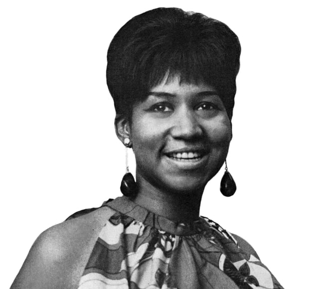 Aretha Franklin as seen in July 1967