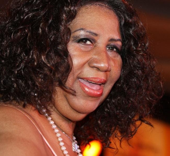 Aretha Franklin at the Larry King Gala in March 2010
