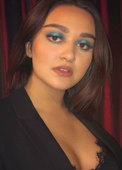 Ariela Barer as seen in May 2018