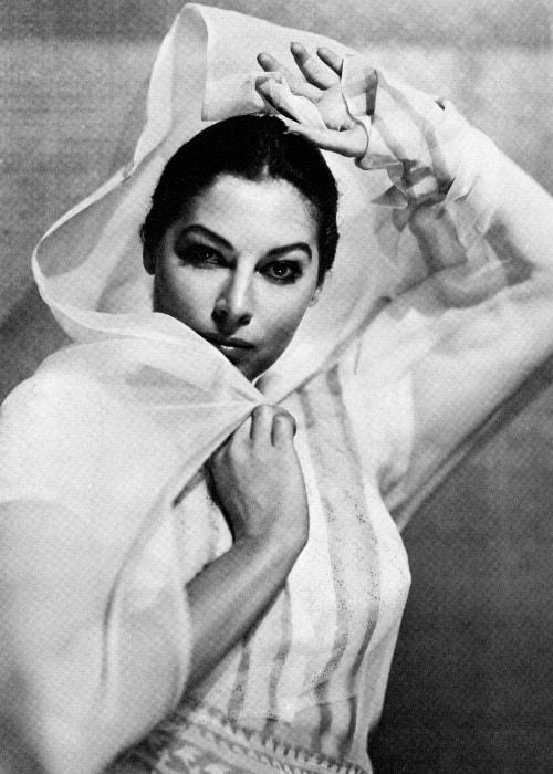 Ava Gardner looking fiercely confident in a still