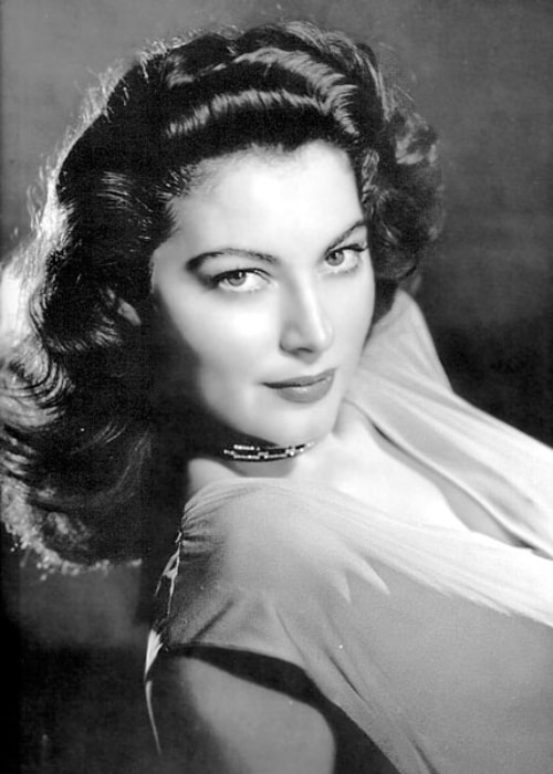 Ava Gardner looking serene and yet so charming