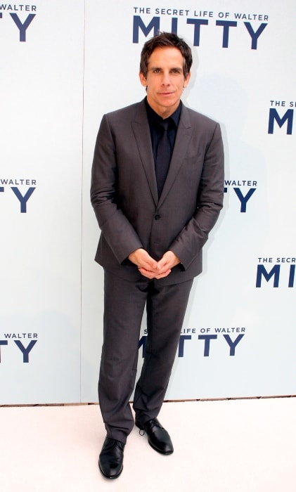 Ben Stiller at the premiere of The Secret Life Of Walter Mitty in Sydney, Australia in November 2013