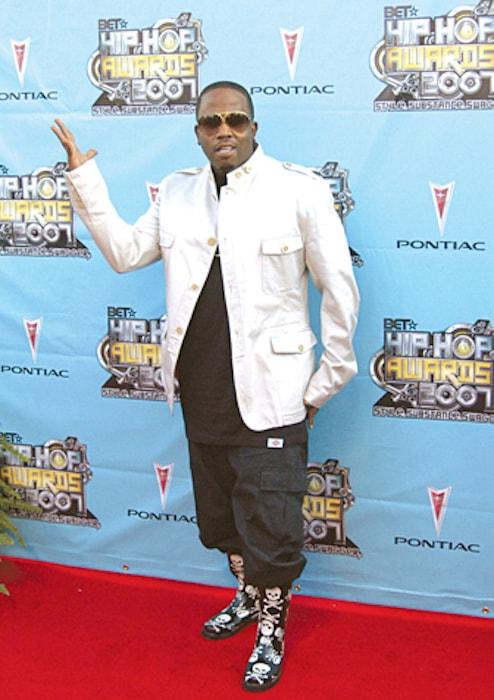 Big Boi at 2007 BET Hip Hop Awards