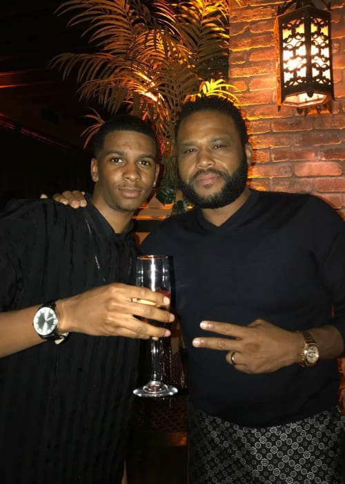 Brett Gray (Left) and Anthony Anderson as seen in May 2018