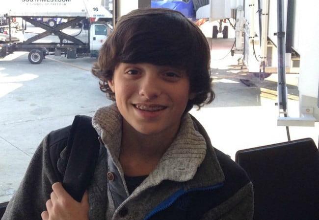 Caleb Logan Leblanc as seen in January 2015