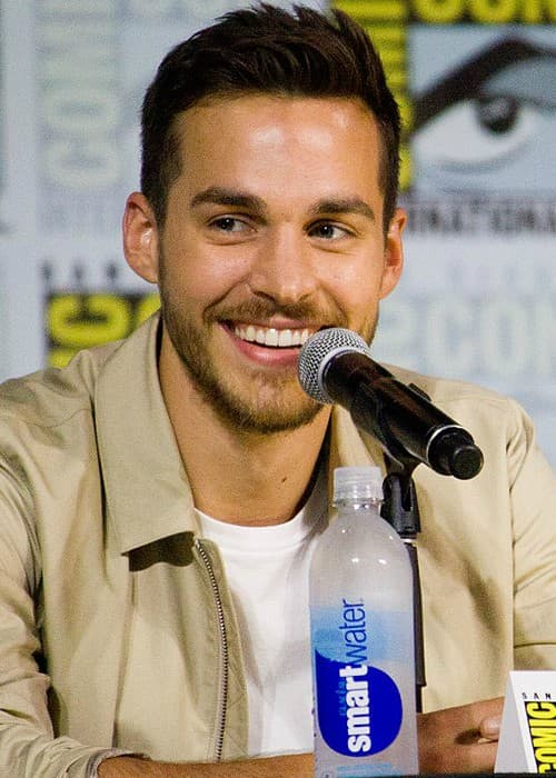 Chris Wood at San Diego Comic-Con in July 2017