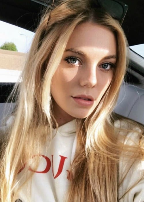 Claire Julien in an Instagram selfie as seen in May 2018