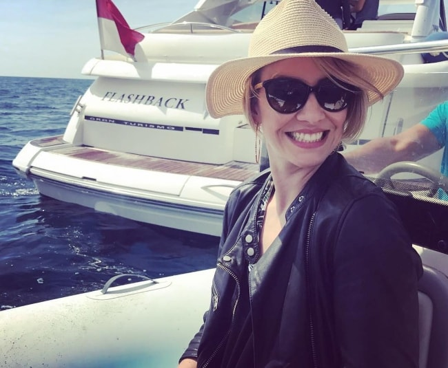 Claire Richards as seen during her trip to France