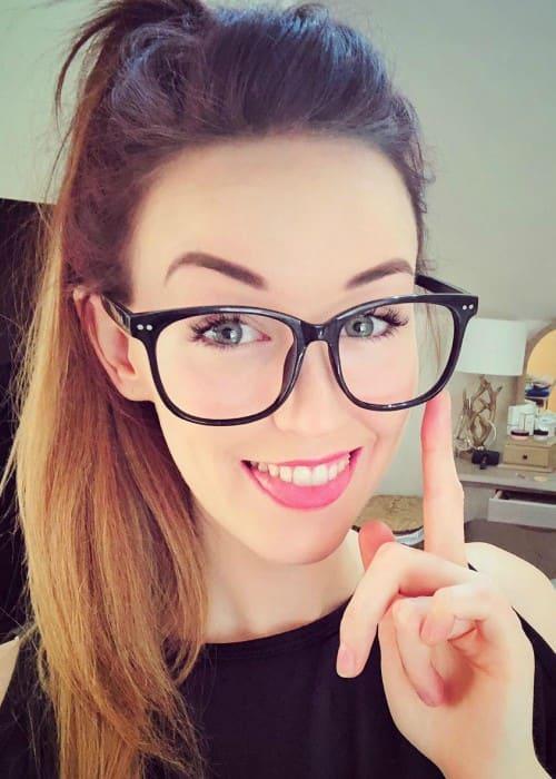 Clare Siobhan Callery in an Instagram selfie as seen in July 2018