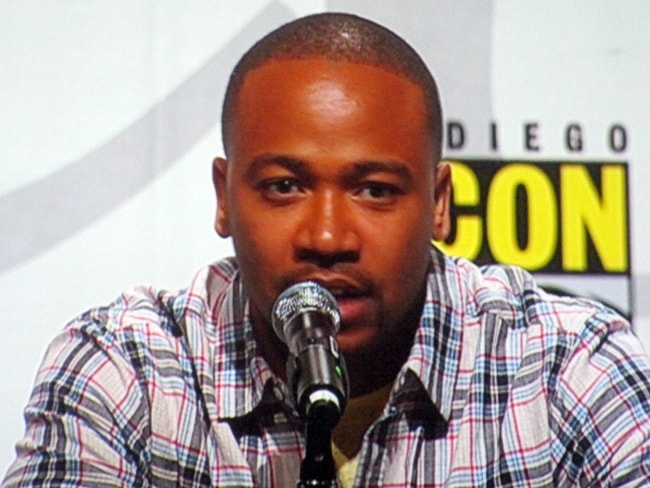 Columbus Short speaking at WonderCon 2010