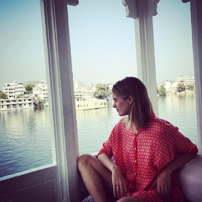 Cressida Bonas in Udaipur, Rajasthan in October 2017