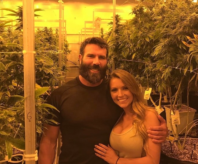 Dan Bilzerian with Sofia Bevarly at Denver, Colorado in April 2017