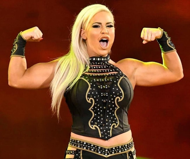 Dana Brooke as seen in July 2018