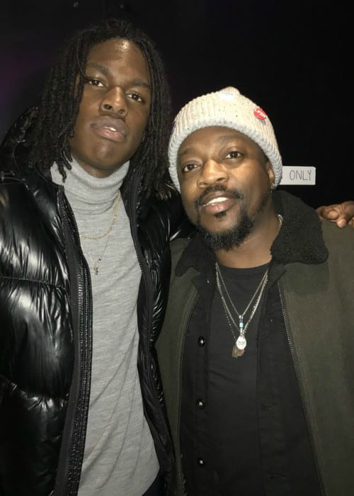 Daniel Caesar (Left) and Anthony Hamilton as seen in January 2018