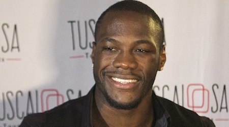Deontay Wilder Height, Weight, Age, Body Statistics