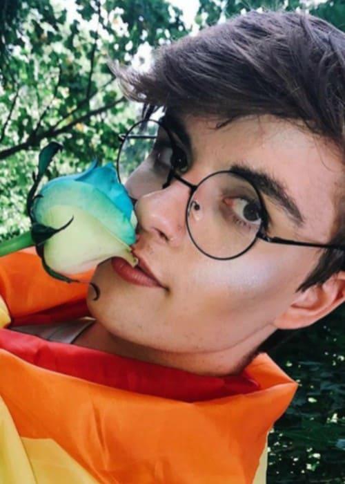 Devin Corwin in a selfie in July 2017