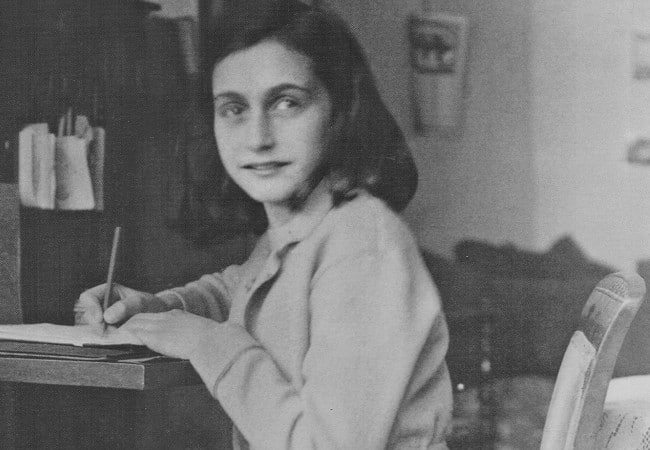 Diarist Anne Frank