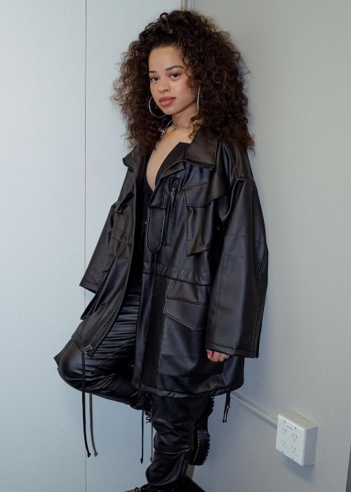 Ella Mai as seen in June 2018