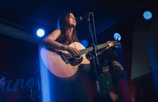 Emma Taylor as seen while performing in November 2015