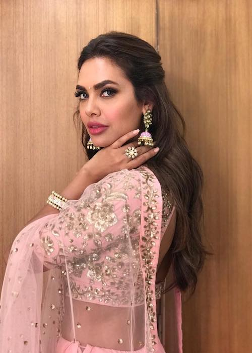 Esha Gupta during a photoshoot in June 2018