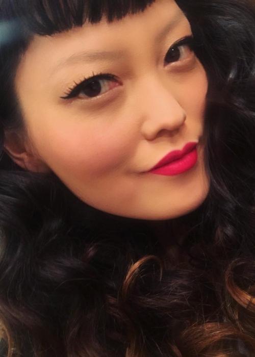 Hana Mae Lee in a selfie in March 2017