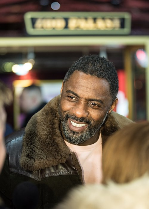 Idris Elba during Berlinale 2018